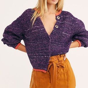 Free People Walk On By Cardigan Sweater